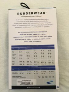Ladies running underwear sizes