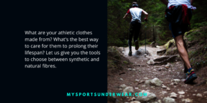 Technical fabrics for sports clothes